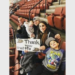 Payton attended Anaheim Ducks vs. Ottawa Senators - NHL - Antis Roofing Community Corner! on Dec 6th 2017 via VetTix