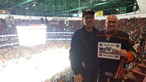 Martin attended Anaheim Ducks vs. Ottawa Senators - NHL - Antis Roofing Community Corner! on Dec 6th 2017 via VetTix