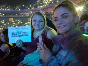 Joe Cole and family attended Katy Perry: Witness the Tour on Nov 29th 2017 via VetTix