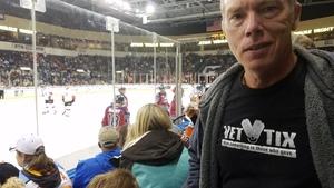 James attended Kansas City Mavericks vs. Kalamazoo Wings - ECHL on Dec 1st 2017 via VetTix