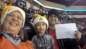 Carla attended Kansas City Mavericks vs. Allen Americans - ECHL on Dec 10th 2017 via VetTix