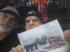 Michael W. attended Kansas City Mavericks vs. Colorado Eagles - ECHL on Dec 16th 2017 via VetTix