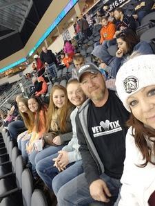 Edward attended Kansas City Mavericks vs. Colorado Eagles - ECHL on Dec 16th 2017 via VetTix
