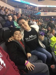 Danielle attended Kansas City Mavericks vs. Colorado Eagles - ECHL on Dec 16th 2017 via VetTix