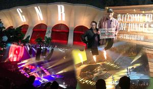 Andy attended Guns N' Roses: Not in This Lifetime Tour on Nov 29th 2017 via VetTix
