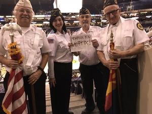 Steven attended Phoenix Suns vs. Toronto Raptors - NBA on Dec 13th 2017 via VetTix