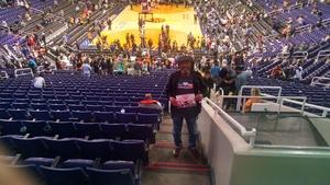 Vernon attended Phoenix Suns vs. Toronto Raptors - NBA on Dec 13th 2017 via VetTix