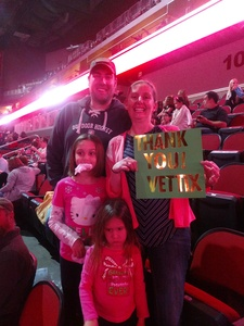 Deana attended Katy Perry: Witness the Tour on Dec 2nd 2017 via VetTix