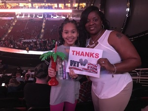 Meeka attended Katy Perry: Witness the Tour on Dec 2nd 2017 via VetTix