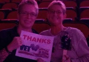 Elizabeth attended Katy Perry: Witness the Tour on Dec 2nd 2017 via VetTix