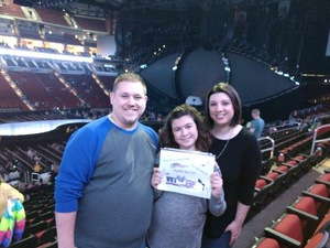 Justin attended Katy Perry: Witness the Tour on Dec 2nd 2017 via VetTix