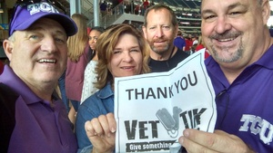 Michael attended Big 12 Championship Game - TCU vs. Oklahoma on Dec 2nd 2017 via VetTix