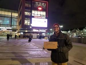 Donnie attended Katy Perry: Witness the Tour on Dec 6th 2017 via VetTix