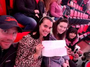 Michael attended Katy Perry: Witness the Tour on Dec 6th 2017 via VetTix