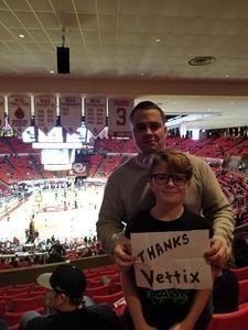 Alan attended Oklahoma Sooners vs. Northwestern - NCAA Men's Basketball on Dec 22nd 2017 via VetTix