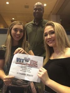 Issac attended Katy Perry: Witness the Tour on Dec 4th 2017 via VetTix