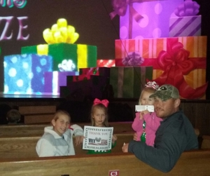 Justin attended Cirque Dreams Holidaze on Dec 5th 2017 via VetTix