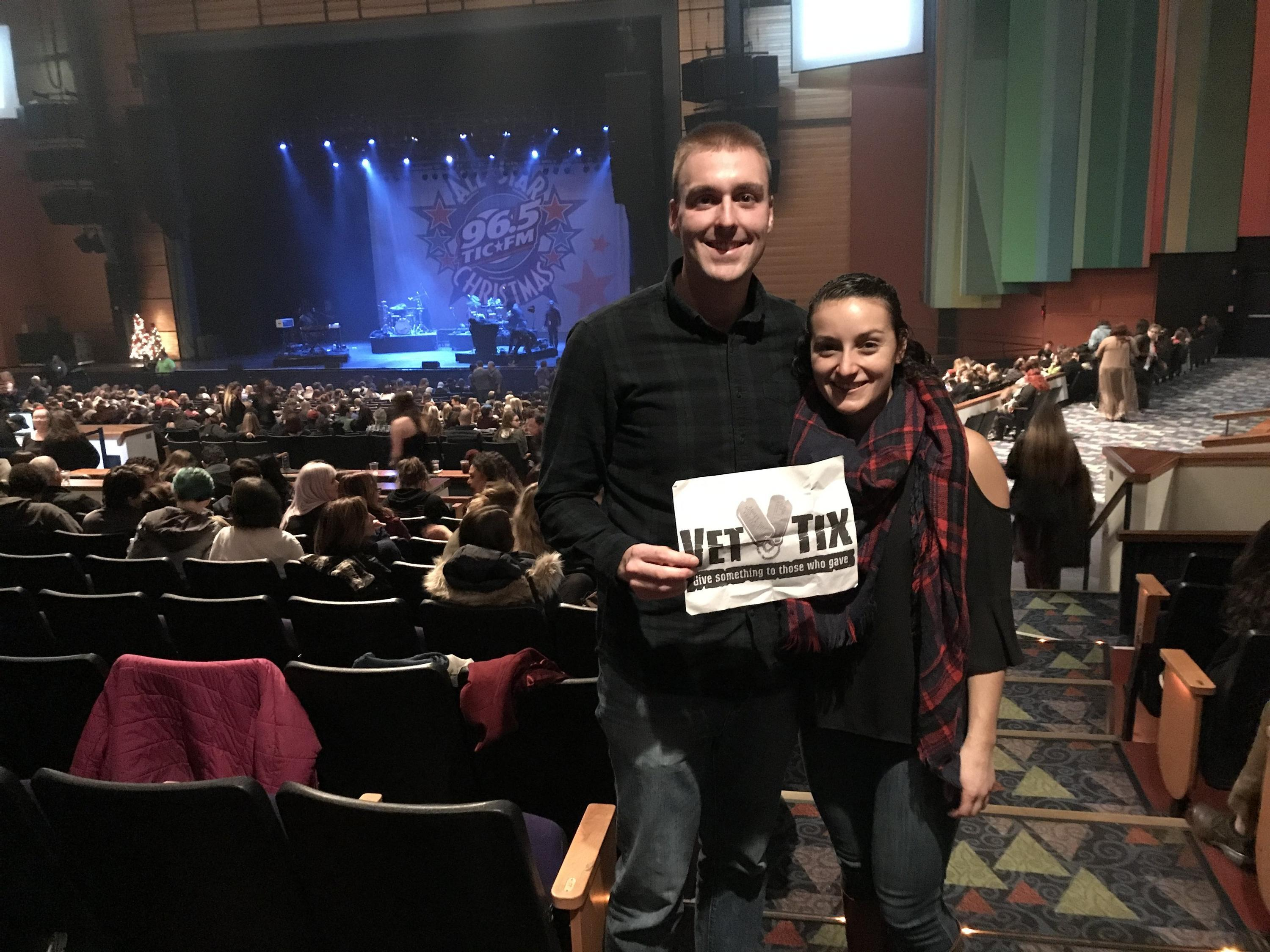 zachary attended 965 tic all star christmas featuring fall out boy bleachers and more - Fall Out Boy Christmas