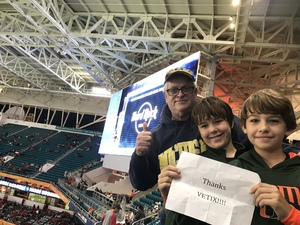 Click To Read More Feedback from 2017 Capital One Orange Bowl - Wisconsin Badgers vs. Miami Hurricanes - NCAA Football