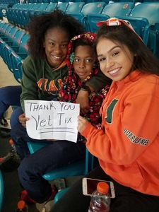Ellen attended 2017 Capital One Orange Bowl - Wisconsin Badgers vs. Miami Hurricanes - NCAA Football on Dec 30th 2017 via VetTix