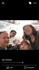 Patrick attended PBR Iron Cowboy on Feb 24th 2018 via VetTix