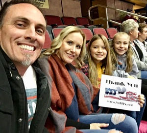 April attended Arizona Coyotes vs. Tampa Bay Lightning - NHL on Dec 14th 2017 via VetTix