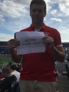 Matthew attended Autonation Cure Bowl - Georgia State vs. Western Kentucky - NCAA Football on Dec 16th 2017 via VetTix