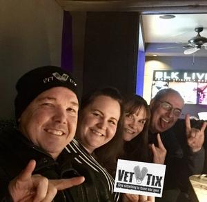 Glenn attended Jefferson Starship - Live in Concert on Jan 25th 2018 via VetTix
