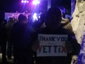 Michael attended LA Guns - Live in Concert on Jan 26th 2018 via VetTix