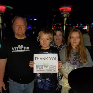 Bruce attended LA Guns - Live in Concert on Jan 26th 2018 via VetTix