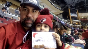 Richard attended Arizona Coyotes vs. Tampa Bay Lightning - NHL on Dec 14th 2017 via VetTix