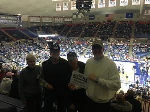 Derek attended UCONN Huskies vs. UCF - NCAA Men's Basketball on Jan 10th 2018 via VetTix