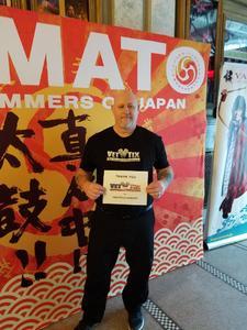 Mark attended Yamato Drummers on Jan 21st 2018 via VetTix