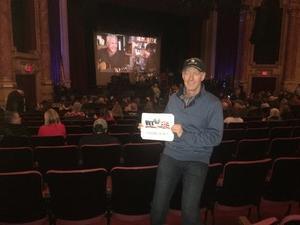 Scott attended Blue Oyster Cult on Jan 19th 2018 via VetTix