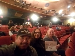 Paul attended Blue Oyster Cult on Jan 19th 2018 via VetTix