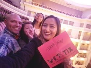 Will attended The Nutcracker - Presented by Texas Ballet Theater on Dec 10th 2017 via VetTix