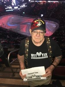 Robert attended New Jersey Devils vs. Washington Capitals - NHL - 21 Squad Tickets With Player Meet & Greet! on Jan 18th 2018 via VetTix