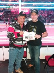 Jose attended New Jersey Devils vs. Dallas Stars - NHL on Dec 15th 2017 via VetTix