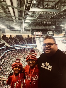 Angel L. attended New Jersey Devils vs. Dallas Stars - NHL on Dec 15th 2017 via VetTix