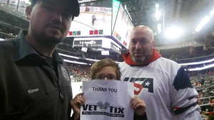 David attended New Jersey Devils vs. Dallas Stars - NHL on Dec 15th 2017 via VetTix