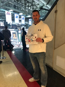 Chris attended New Jersey Devils vs. Dallas Stars - NHL on Dec 15th 2017 via VetTix