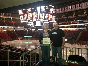 Scott attended New Jersey Devils vs. Chicago Blackhawks - NHL on Dec 23rd 2017 via VetTix