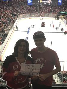 John R. attended New Jersey Devils vs. Chicago Blackhawks - NHL on Dec 23rd 2017 via VetTix