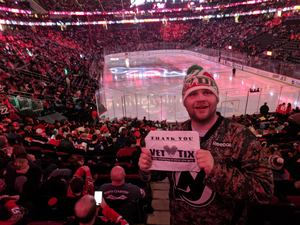 Jeremy attended New Jersey Devils vs. Chicago Blackhawks - NHL on Dec 23rd 2017 via VetTix