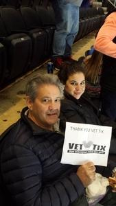 Evelio attended New Jersey Devils vs. Chicago Blackhawks - NHL on Dec 23rd 2017 via VetTix
