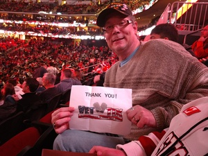 Michael attended New Jersey Devils vs. Chicago Blackhawks - NHL on Dec 23rd 2017 via VetTix