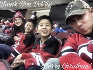 Miguel attended New Jersey Devils vs. Chicago Blackhawks - NHL on Dec 23rd 2017 via VetTix