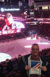 Anthony&Lie Liem attended New Jersey Devils vs. Chicago Blackhawks - NHL on Dec 23rd 2017 via VetTix