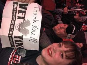 Beryl attended New Jersey Devils vs. Chicago Blackhawks - NHL on Dec 23rd 2017 via VetTix