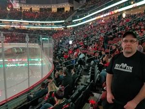Carlton attended New Jersey Devils vs. Detroit Red Wings - NHL on Dec 27th 2017 via VetTix